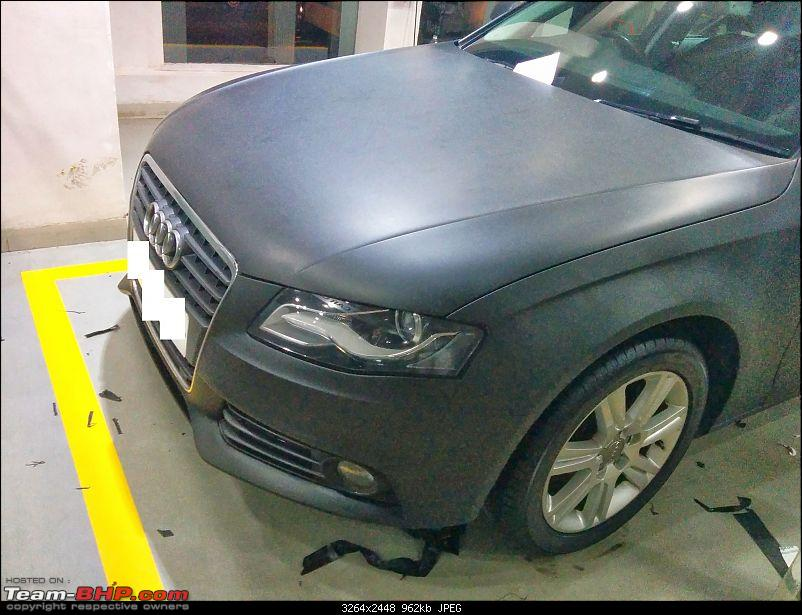 Audi A4 - Need a Matte Black finish-img_20140327_195355.jpg