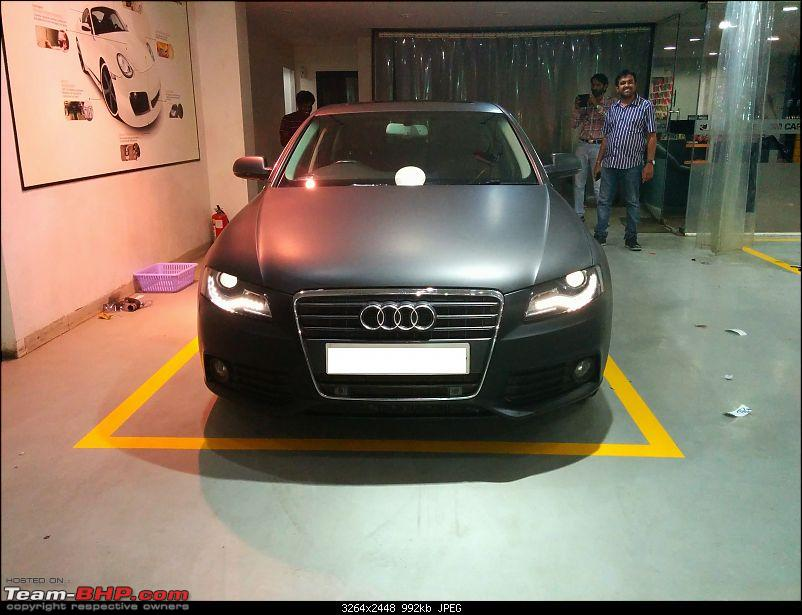 Audi A4 - Need a Matte Black finish-img_20140327_200817.jpg