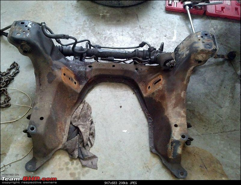 Building Drift Cars - 1990 Mazda Miata-front-sub-frame-before.jpg