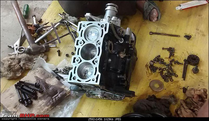 Maruti 800 Restoration Project-sump-place-.jpg
