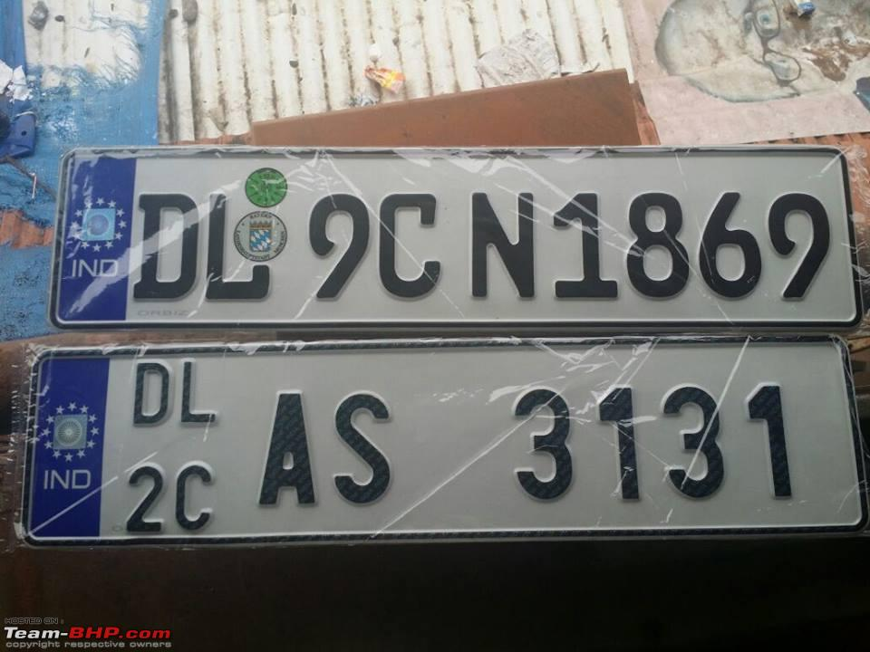 Number plates & merchandise: Canvas Ink (Gurgaon) EDIT: Closed ...