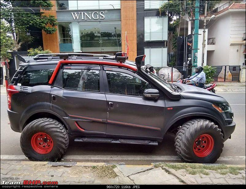 Pics of weird and wacky mod jobs!-intrepidmahindraxuv500onindianroadsisabeast1.jpg