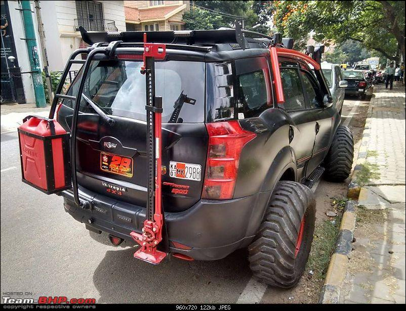 Pics of weird and wacky mod jobs!-intrepidmahindraxuv500onindianroadsisabeast2.jpg