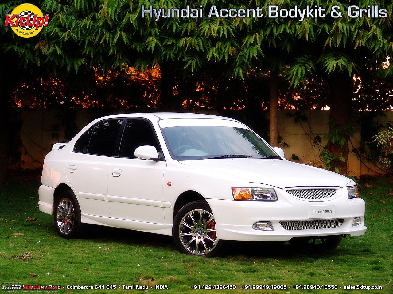 D Hyundai Accent Modifications Accentbodykit Of