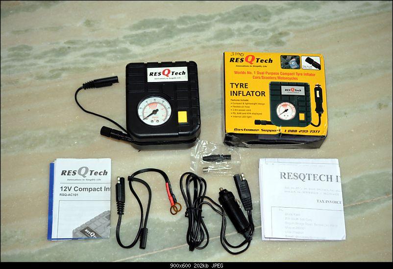 Tyre pressure gauge and portable inflator pump / foot pump-3-resqtech-tyre-inflator.jpg