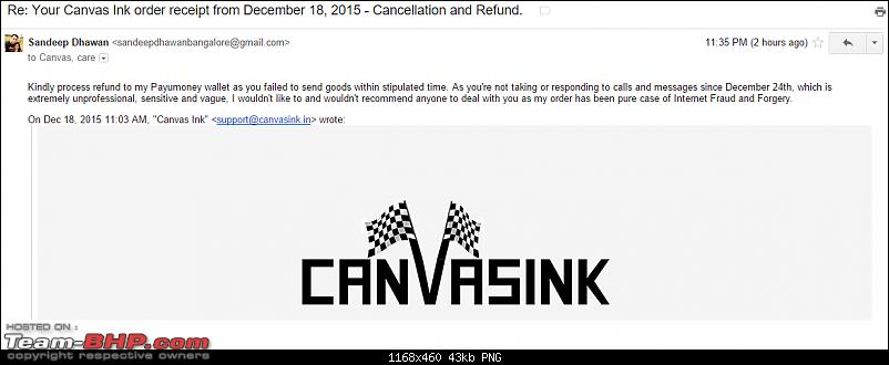 Number plates & merchandise: Canvas Ink (Gurgaon) EDIT: Closed!-canvasinkcancellation.png