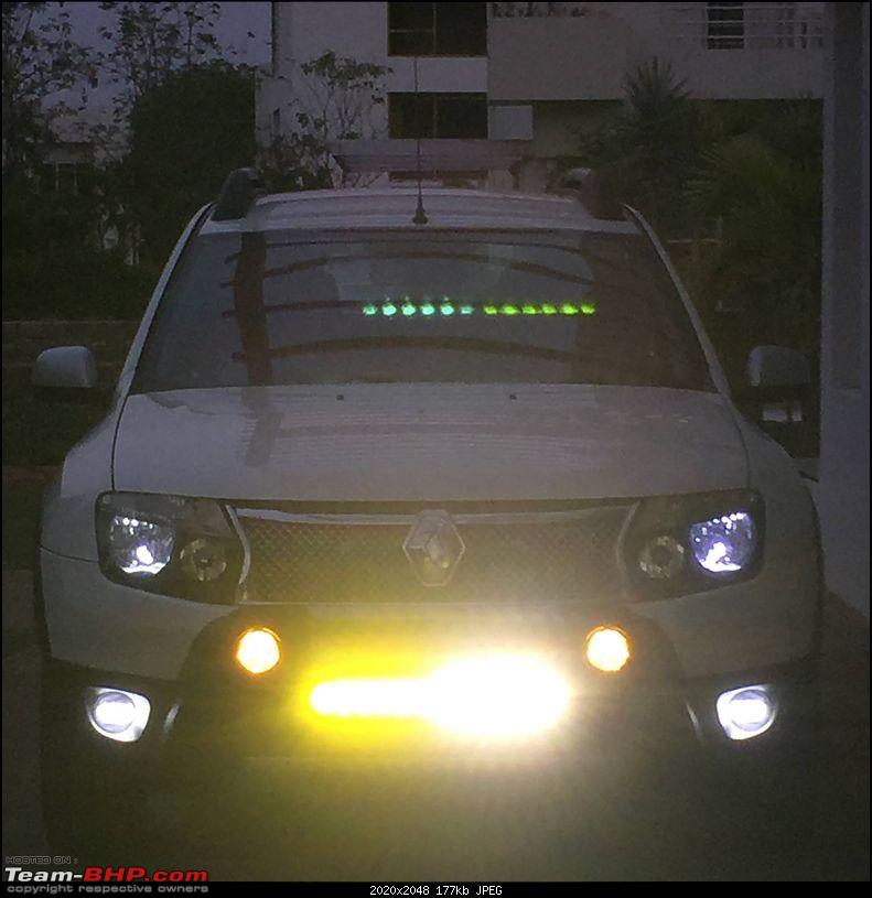 Renault Duster Guide : How to install driving lamps & aftermarket horn-duster_light.jpg