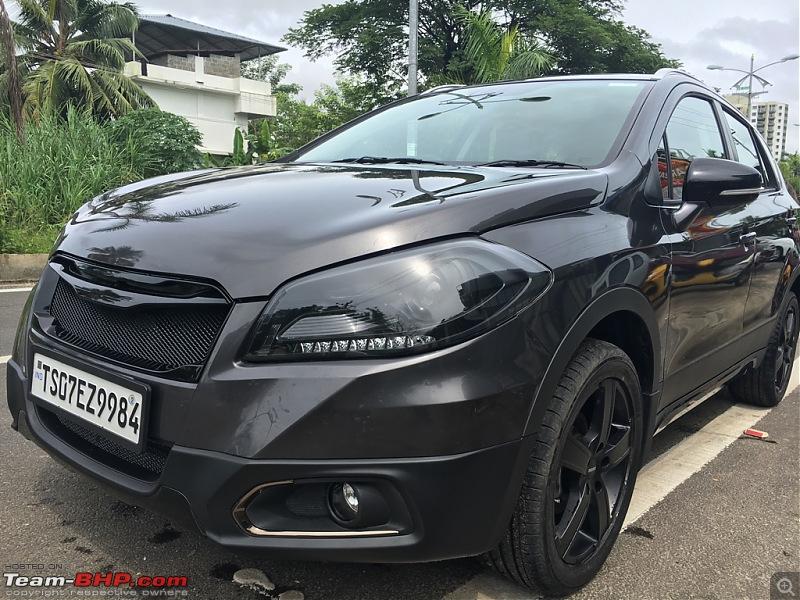 StealthCross - My modded black S-Cross-imageuploadedbyteambhp1468395535.015799.jpg