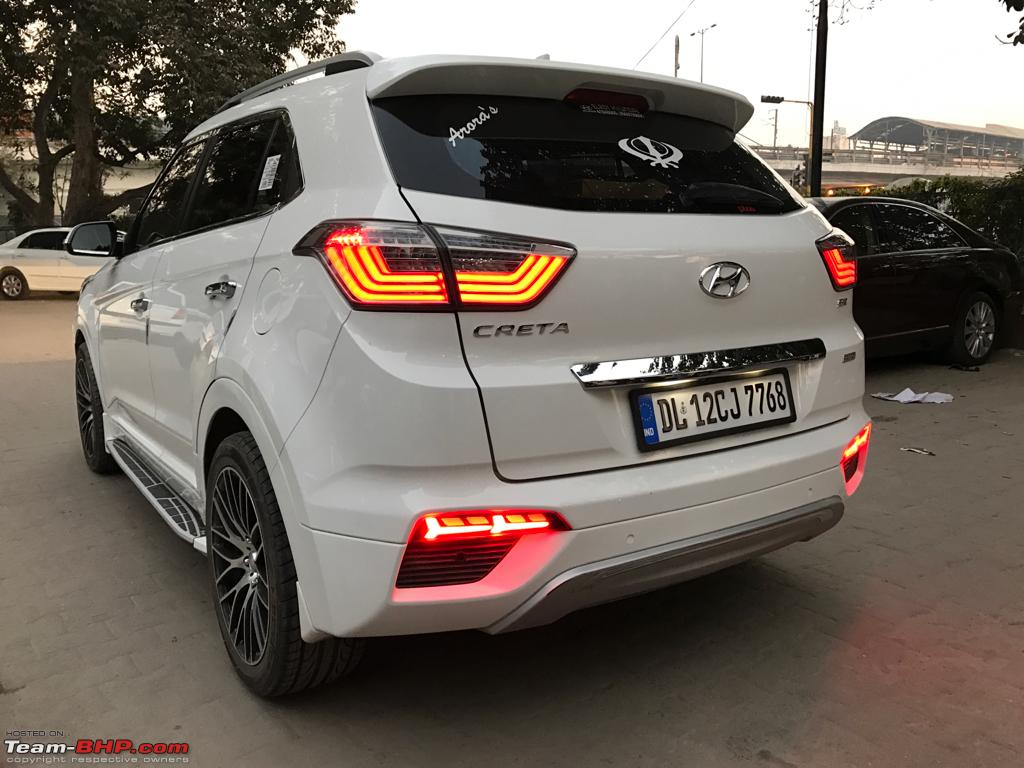2016 Hyundai Santa Fe >> Installed! Sweet rear reflector LEDs in my Hyundai Creta - Page 2 - Team-BHP