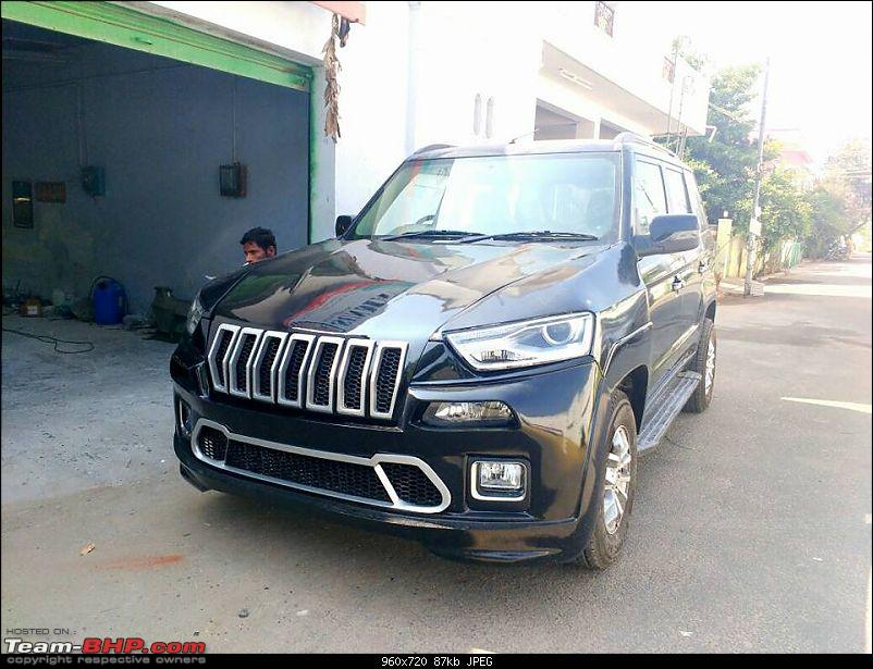 PICS : Tastefully Modified Cars in India-mahindratuv300frontquartermodifiedtojeepcherokee.jpg