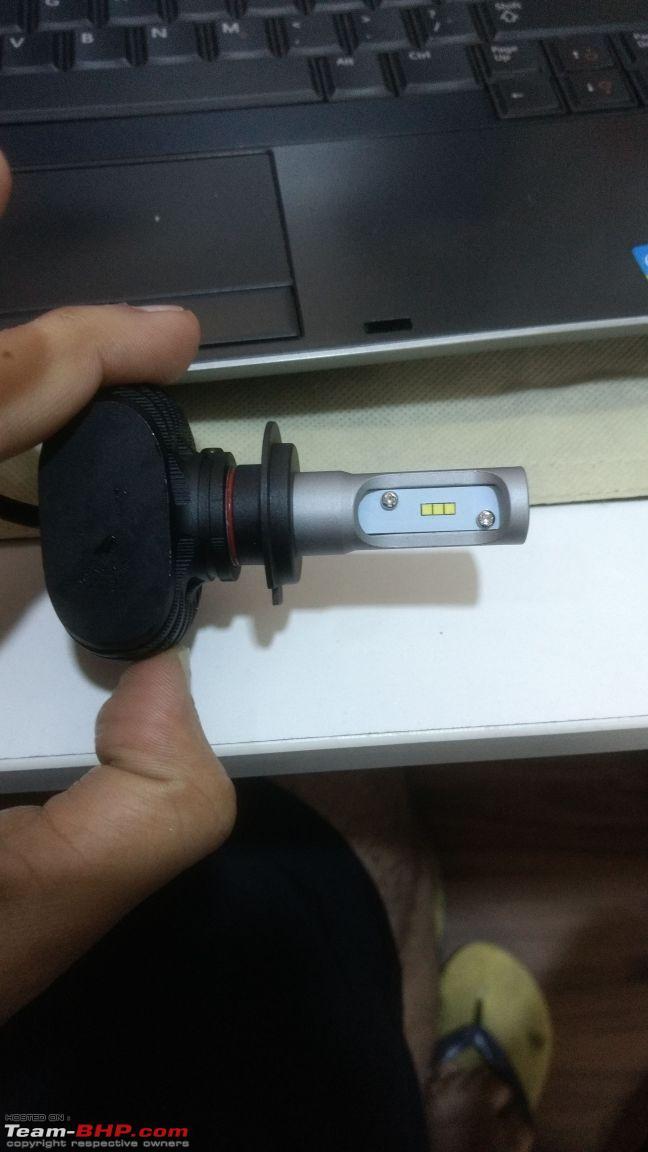 Installed! LED Foglamps in my Skoda Octavia - Team-BHP
