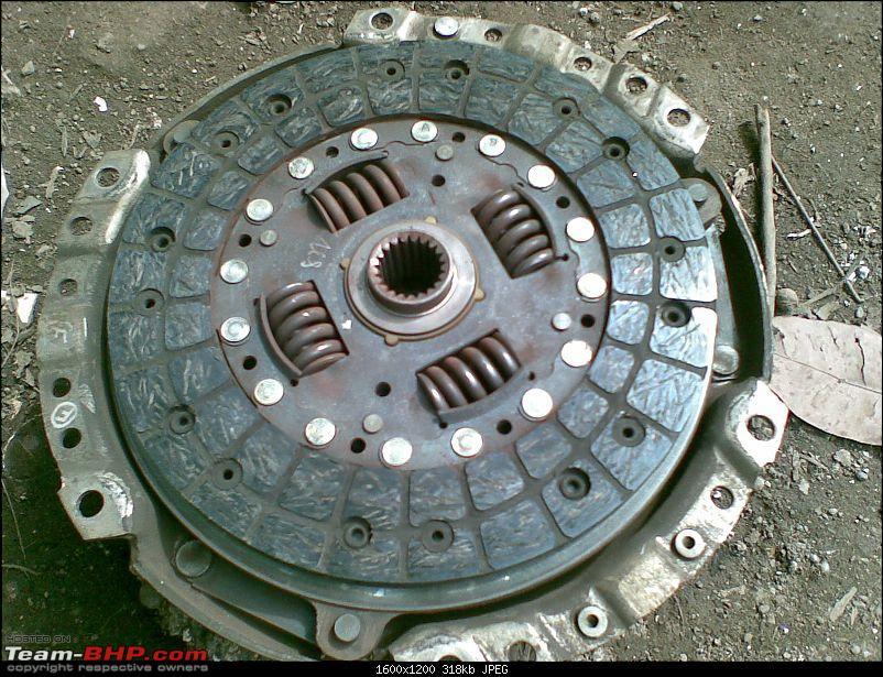 Clutch kit changed on Corolla-08082009.jpg