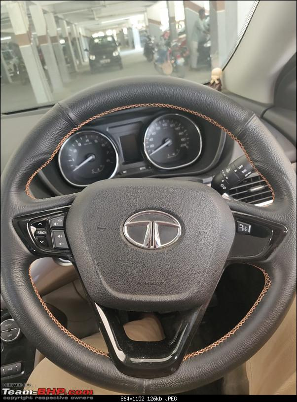 Pune: Good place for a leather-wrap on the steering?-nexysteering.jpg