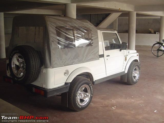 Bought Maruti Gypsy With Toyota Diesel Want to Modify - Team-BHP