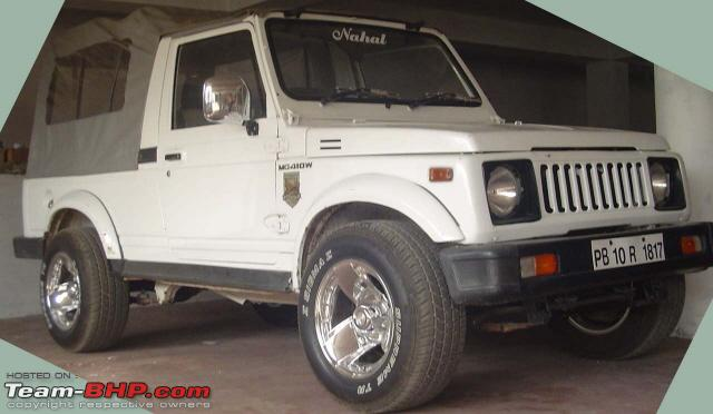 Bought Maruti Gypsy With Toyota Diesel Want To Modify