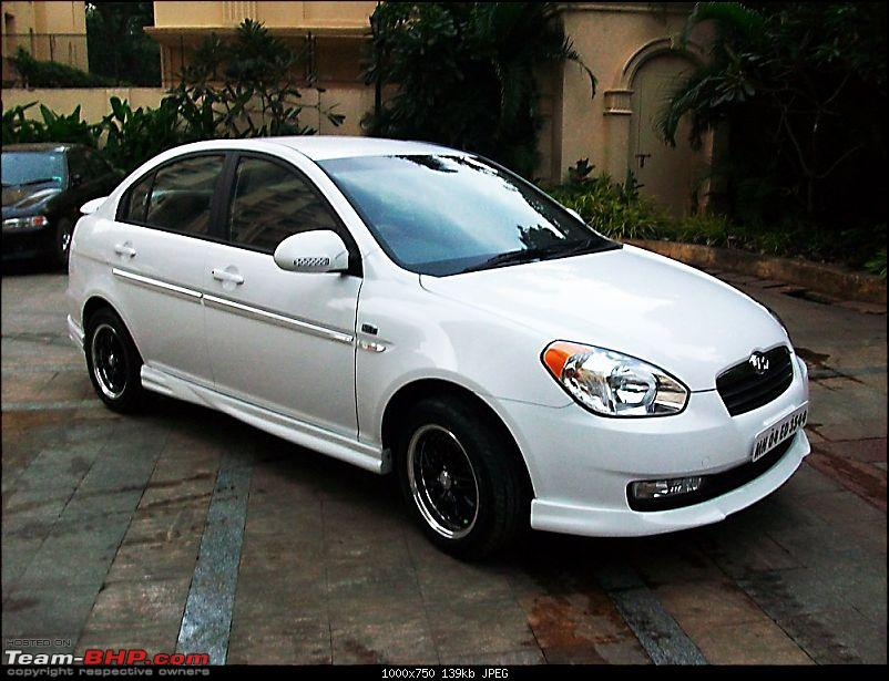 My new Verna CRDI ABS (with Body kit, alloys etc)-verna1.jpg