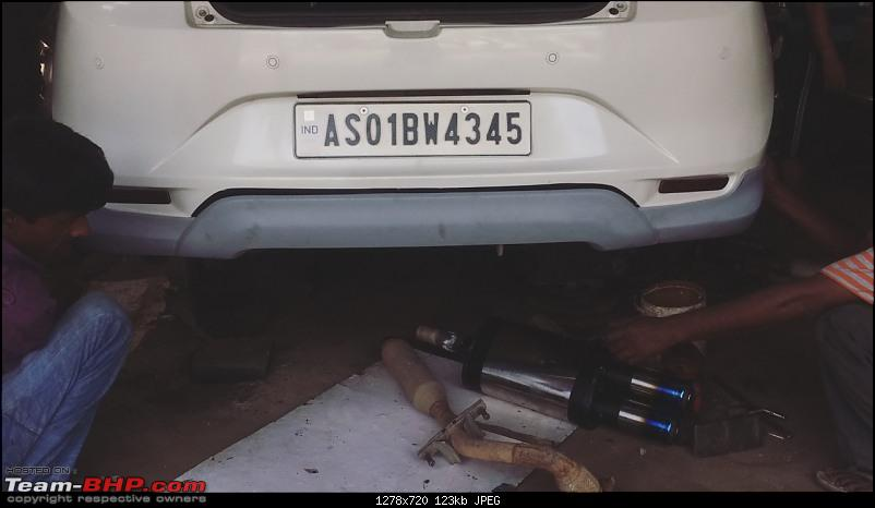 Modification Diaries | Maruti Baleno Zeta | Remap, lowering springs, exhaust, audio upgrade & more-remus-end-can-stock-end-can.jpg