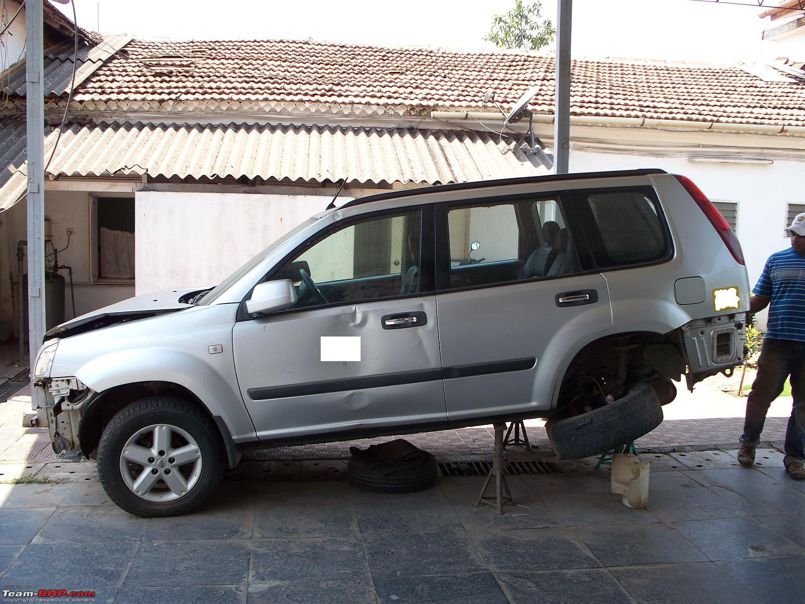 nissan x trail when i bought it team bhp. Black Bedroom Furniture Sets. Home Design Ideas