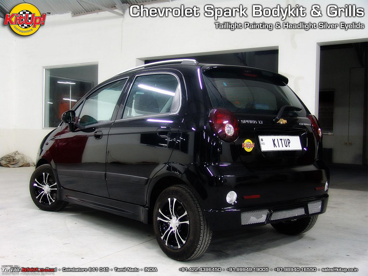 Pictures of chevrolet spark mods team bhp