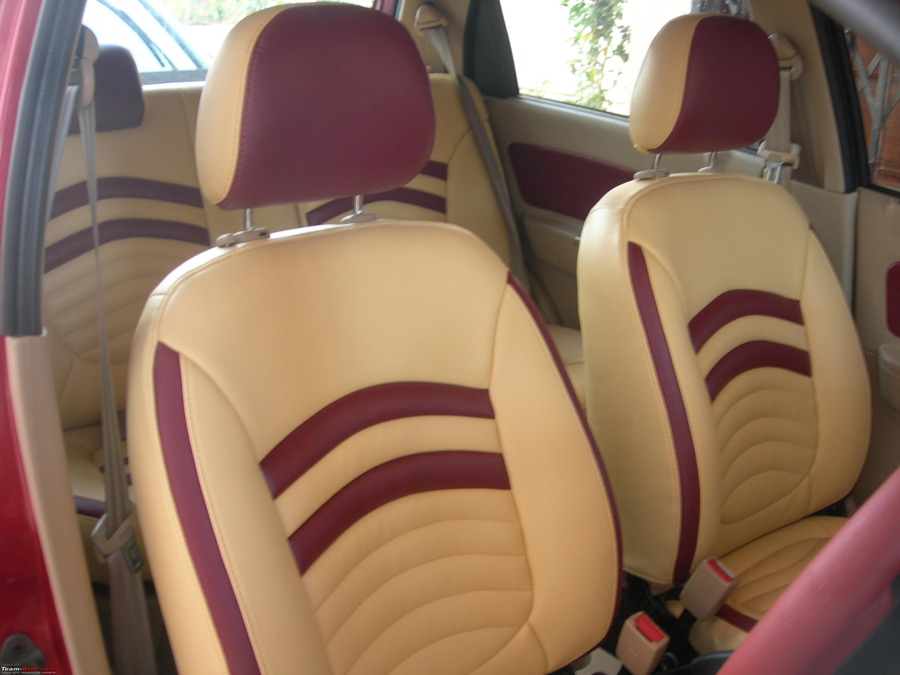 Car craft seat covers - Art Leather Seat Covers Page 27 Team Bhp