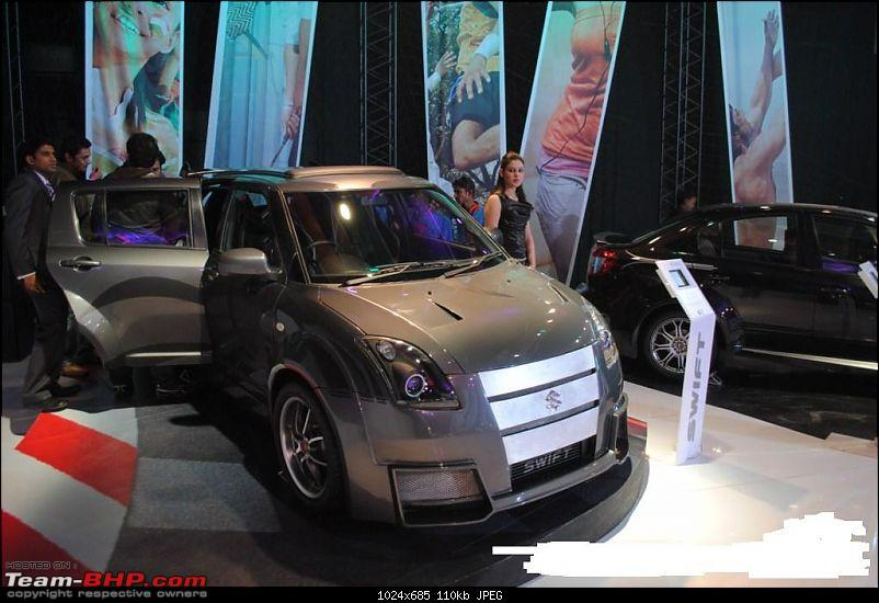 Pics of weird and wacky mod jobs!-maruti_swift_kseries.jpg
