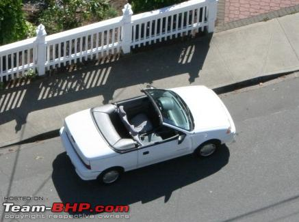 Modification of indian car into convertible sports car