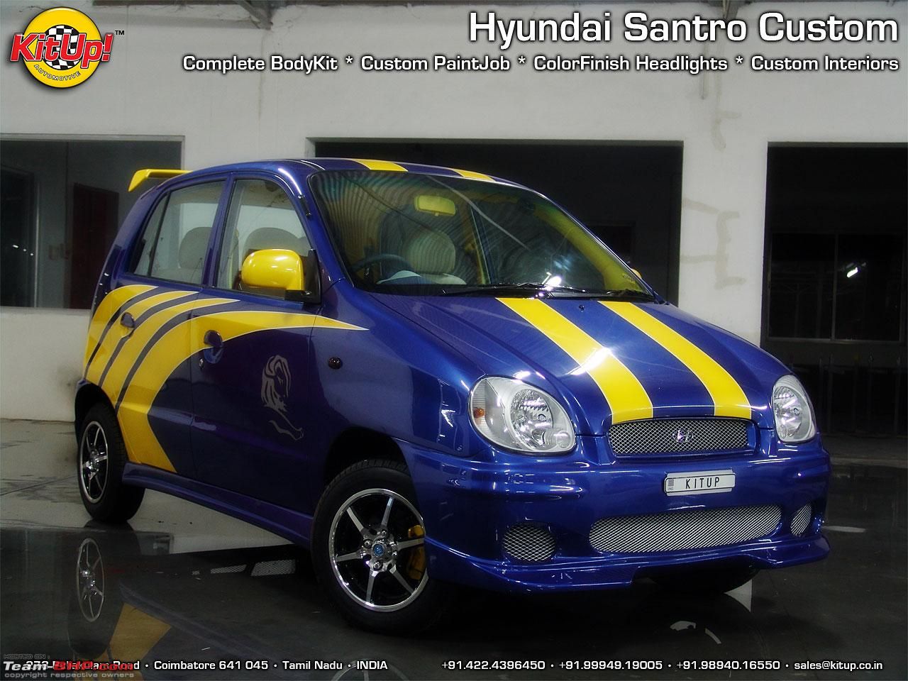 Hyundai Santro Zip Drive 2002 Model Restoration Project TeamBHP