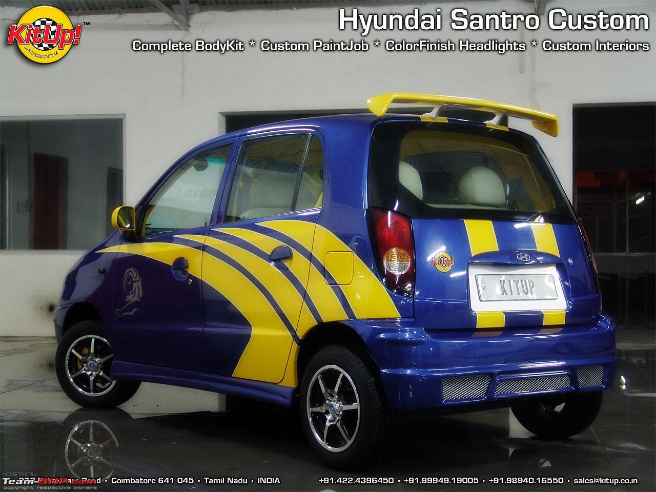 Hyundai Santro Zip Drive 2002 Model Restoration Project