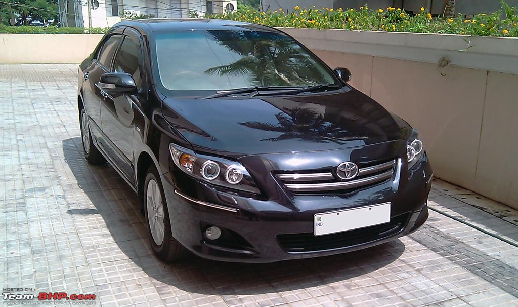 Modded Toyota Corolla Altis- Projector CCFL Angel Eyes, Spoilers