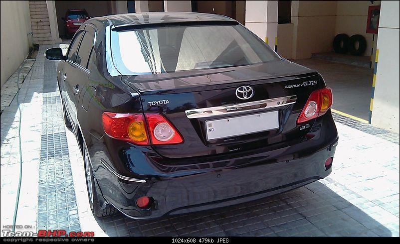 Modded Toyota Corolla Altis- Projector CCFL Angel Eyes, Spoilers, Side Visor-imag0199.jpg