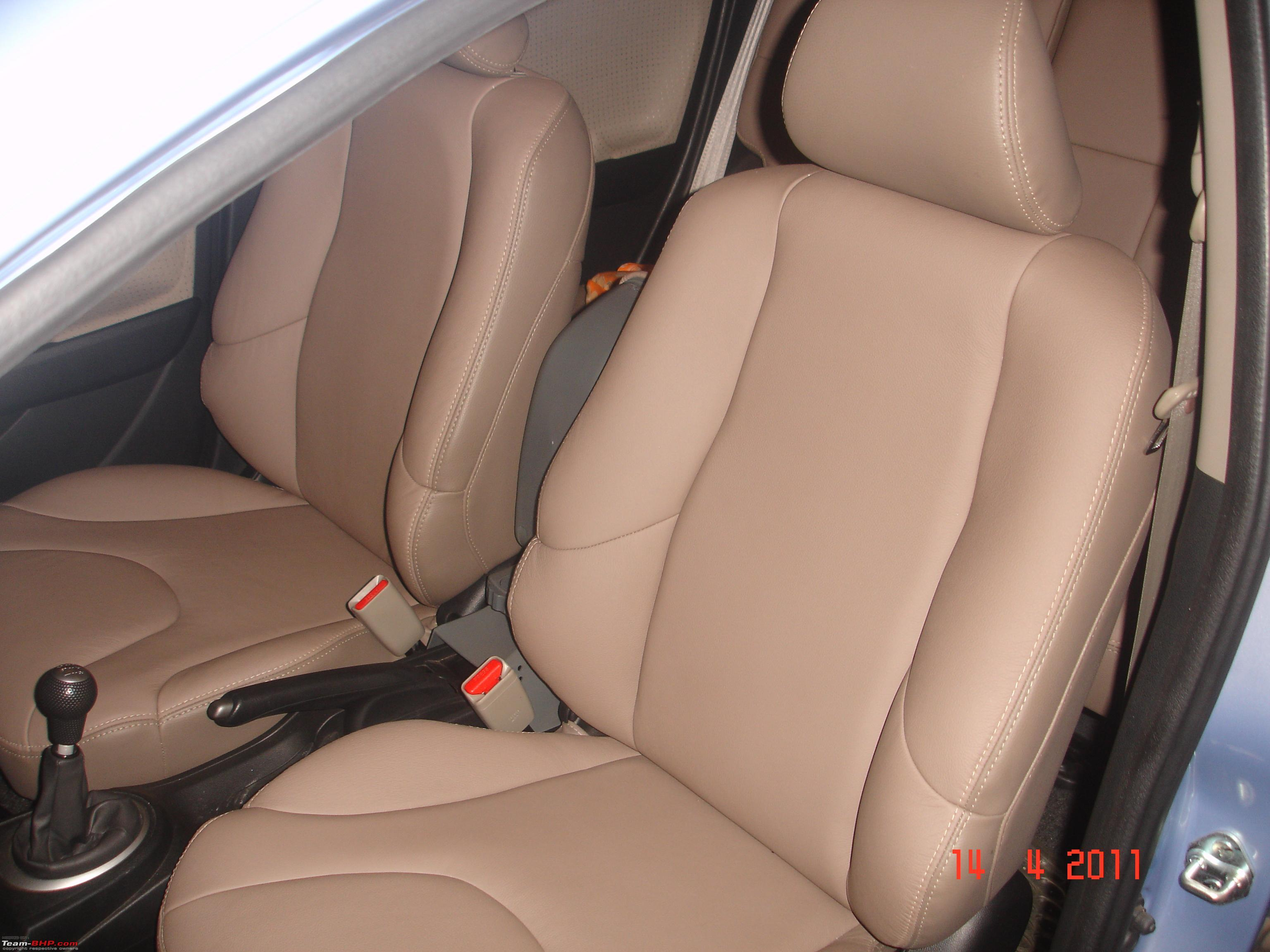 Art Leather Seat Covers Dsc06169