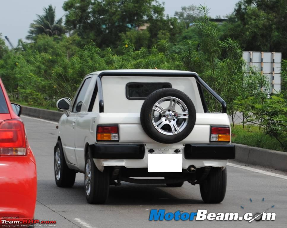 2 Door Maruti 800 Pickup Team Bhp