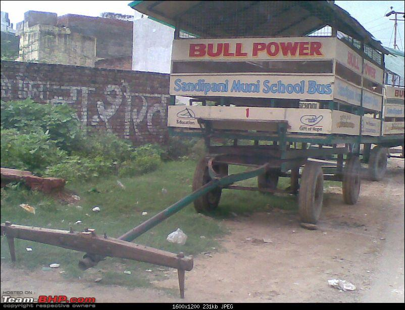 Pics of weird and wacky mod jobs!-vrindavan-bull-powered-school-bus.jpg