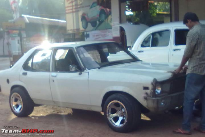 Contessa story from Thrissur. My muscle car!