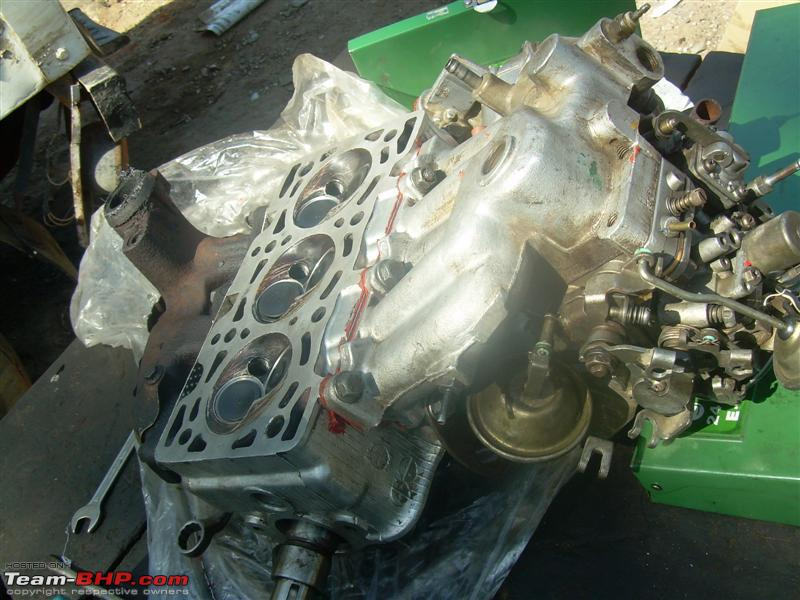 Name:  33 head plus intake plus carb.jpg