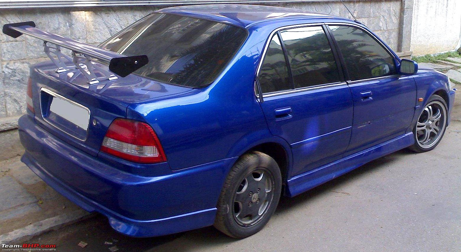 Black Listed Riderz Modified Honda City