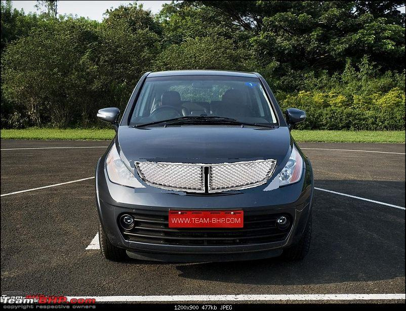 Tata Aria Exterior Grilled: DeINDICAization of the Aria-grill.jpg