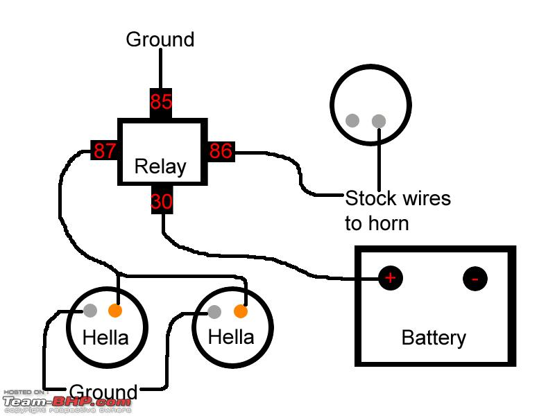 92943d1232865210 power horns hellawiring bosch relay wiring diagram for horn wiring diagram and schematic horn wiring diagram with relay at bayanpartner.co