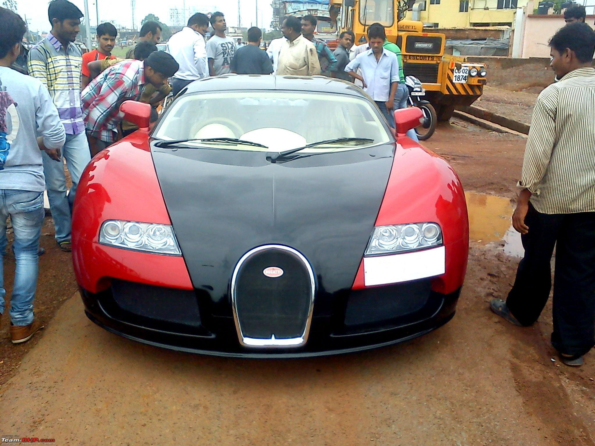pics bugatti veyron replica in india edit one more. Black Bedroom Furniture Sets. Home Design Ideas