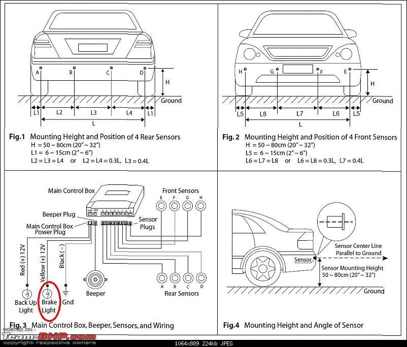 front parking sensors for the cruze team bhp rh team bhp com 3 Wire Sensor Wiring Diagram 2000 Deville Speed Sensor Wire Diagram