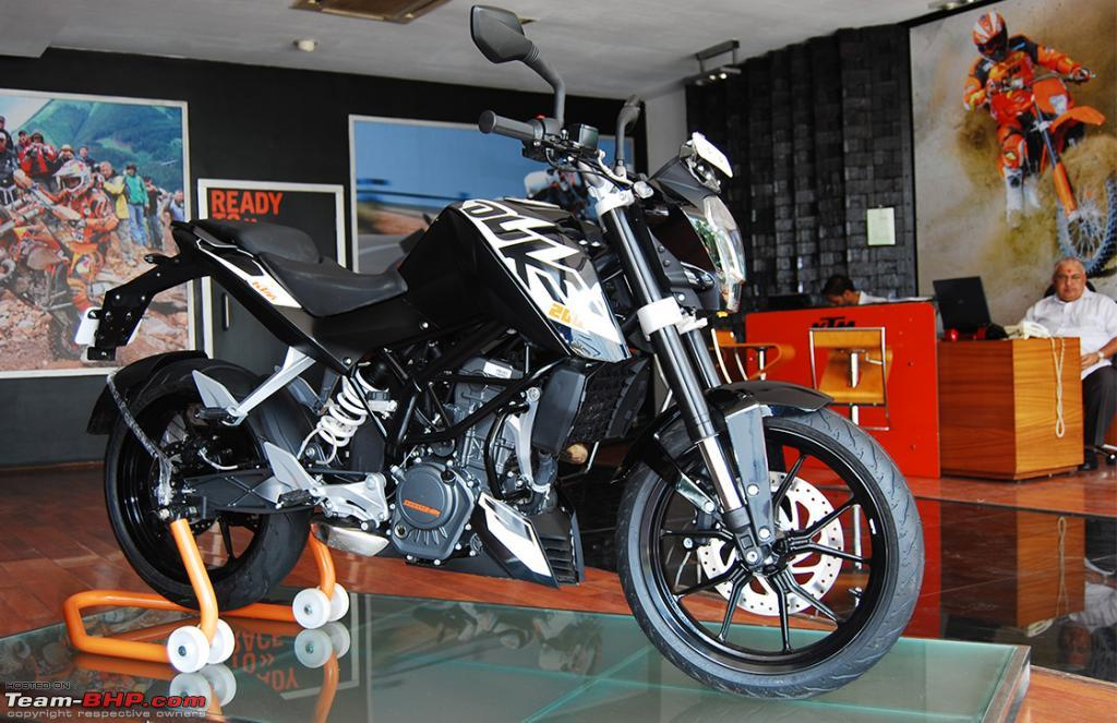 ktm duke 200 launched @ an introductory price of rs. 1,17,500