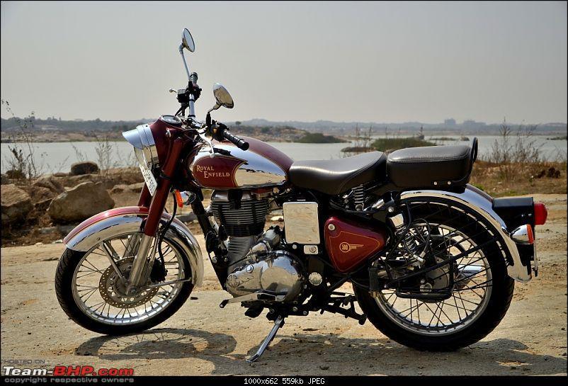 """RE Classic Chrome 500 (12,500kms Done):The """"Maroon Marauder"""" THUMP's home!!-_dsc3969.jpg"""