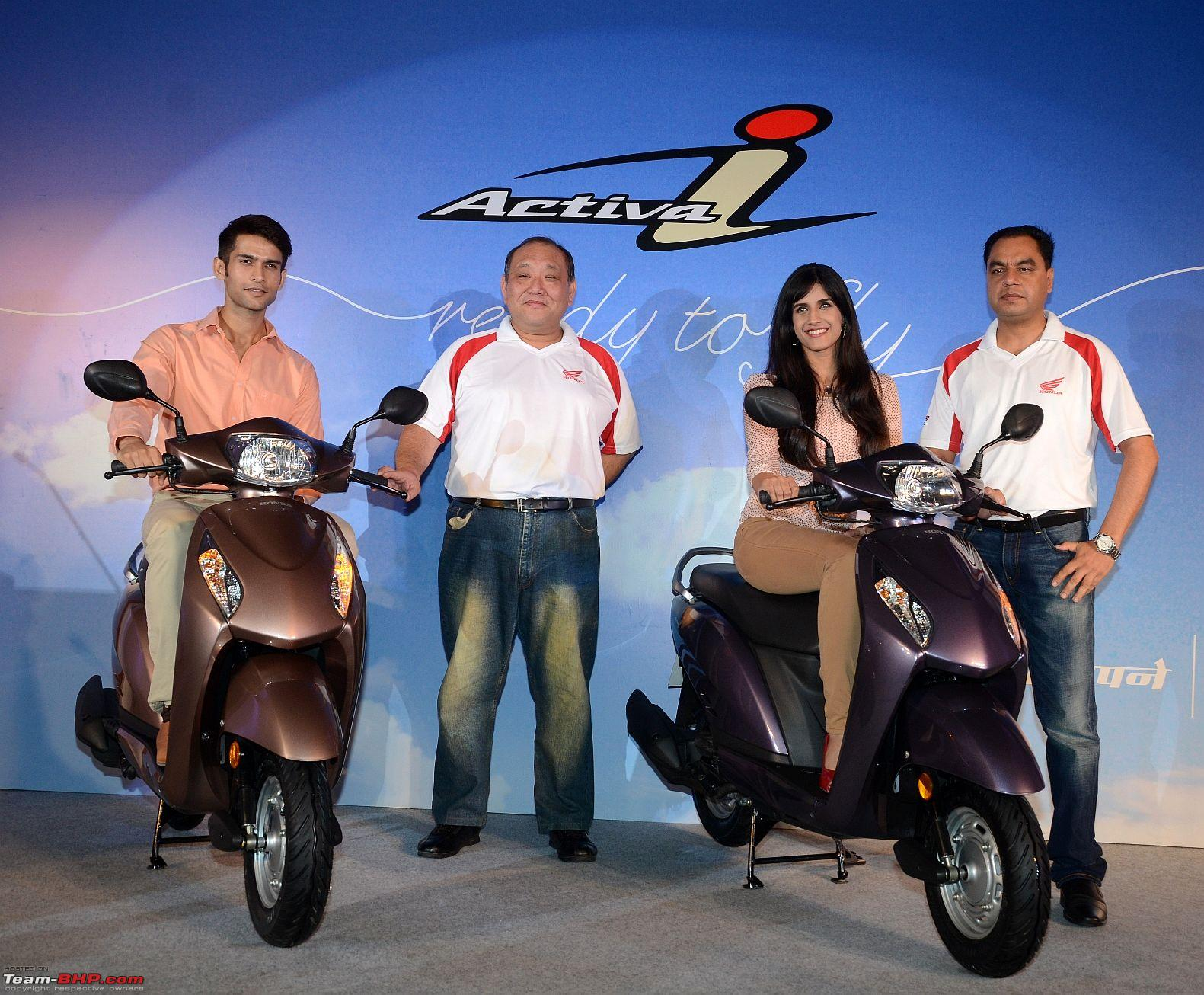 Honda Activa I Launched In India At A Price Of 44200 Ex Showroom