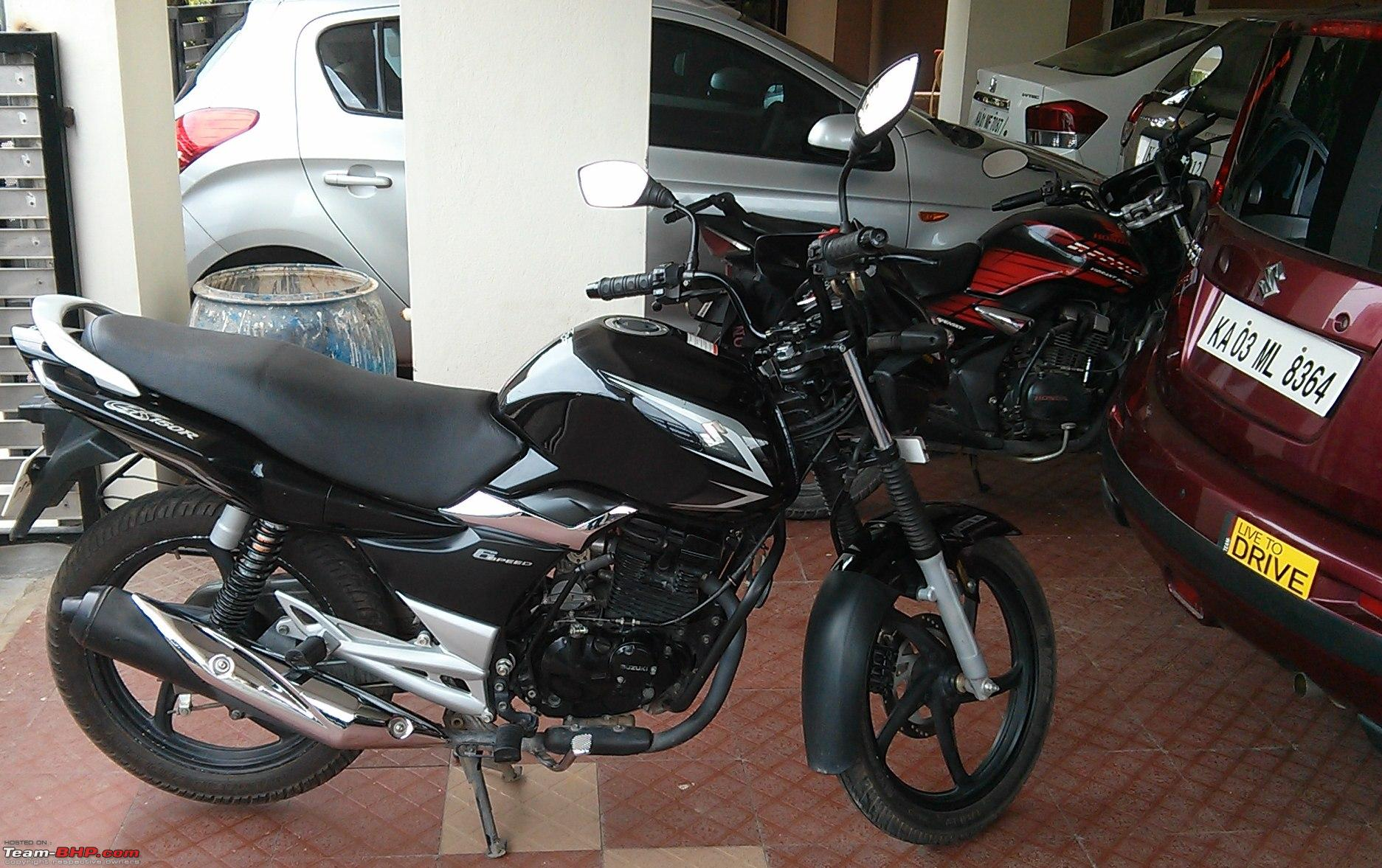 Riding The Way Of Life Suzuki Gs150r A Proposal The