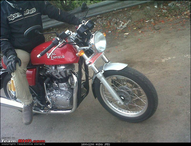 Royal Enfield Cafe Racer spotted testing. Edit: Now launched as Continental GT. Pg 10-img2013070200009.jpg