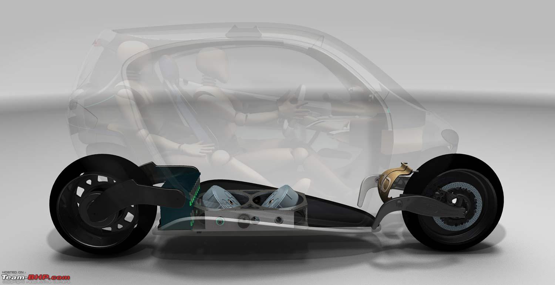Lit Motors C1 Price >> Lit Motors C1 - A Gyro Stabilized 2-Wheeler - Team-BHP