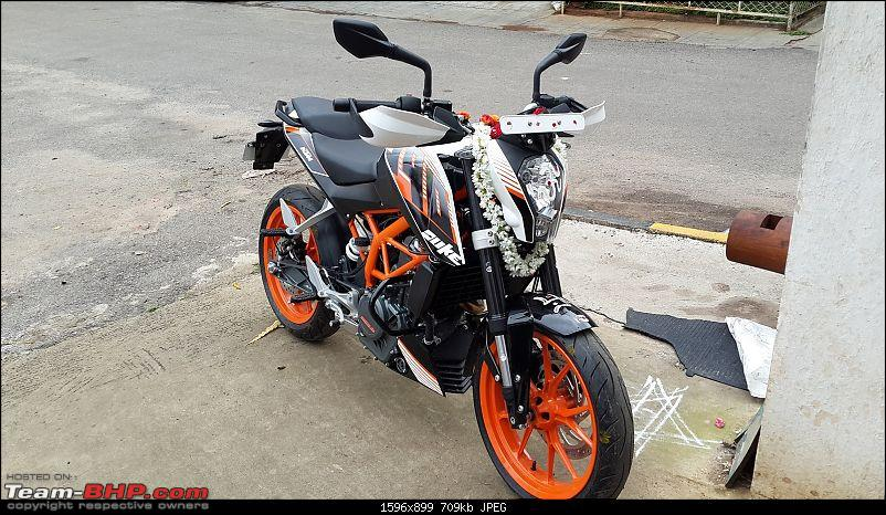 Boys never grow up; They just get older and their toys more expensive. My Duke 390!-pooja1.jpg <br /> <a href=