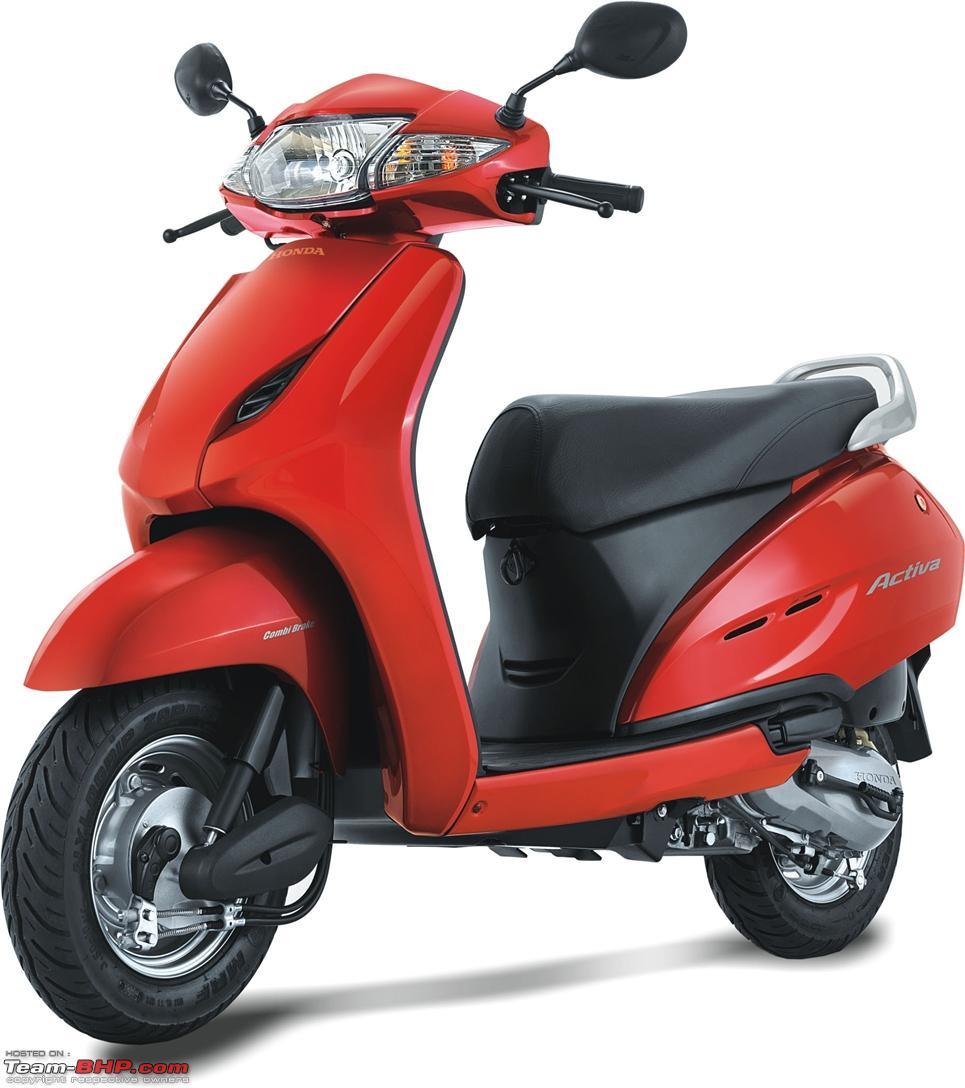 Honda Activa Outsells The Hero MotoCorp Splendor In September 2013