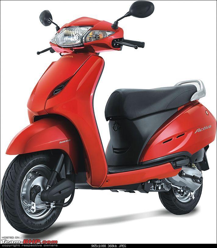 Honda Activa outsells the Hero MotoCorp Splendor in September 2013-honda-activa.jpg
