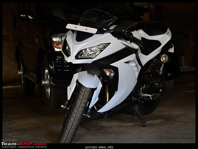 My Fair Lady : The Kawasaki Ninja 300 - Pearl Stardust White-dsc_0464.jpg